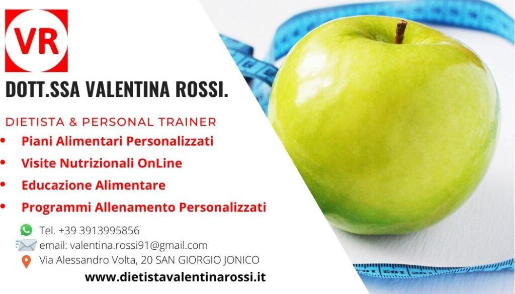 Dietista Valentina Rossi